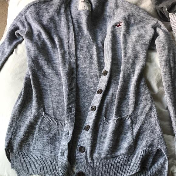 Hollister Sweaters - Grey Hollister sweater